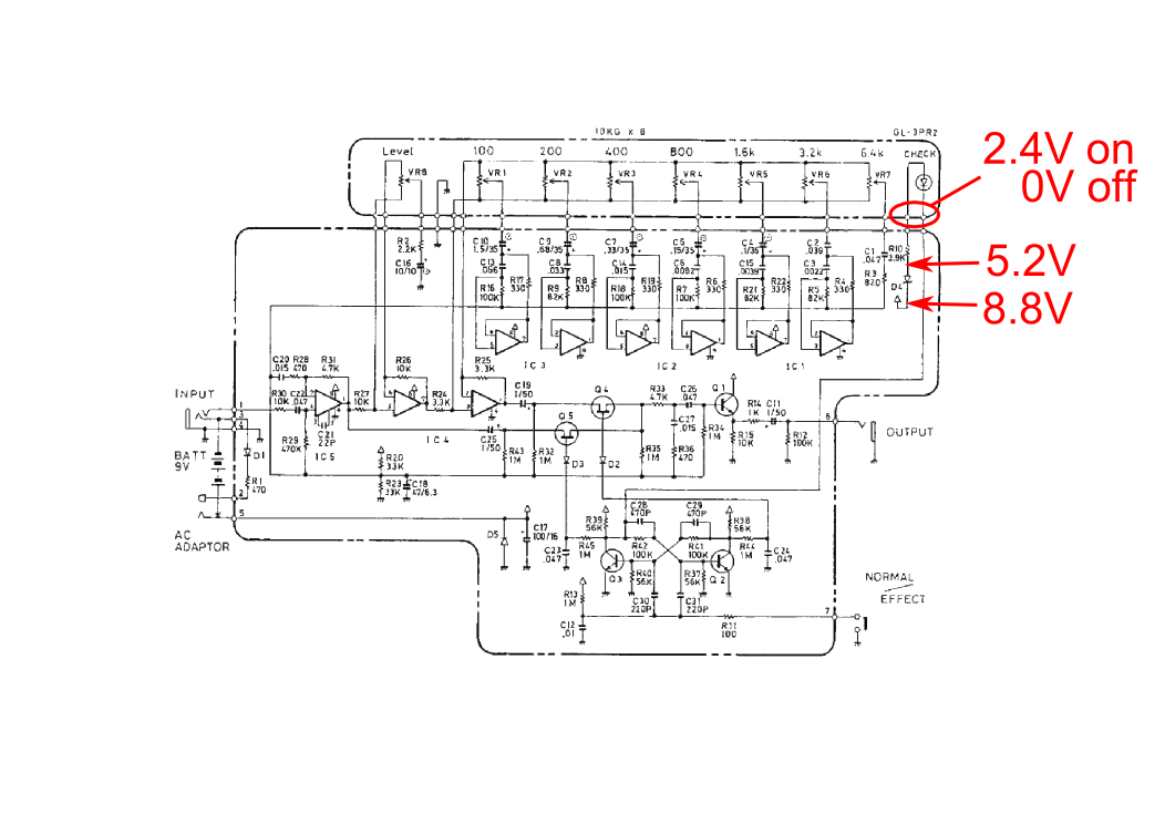 boss 7 band eq wiring diagram boss ge 7 as clean boost